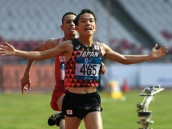 Asian Games 2018 Controversy Martathon Game After Top 2 Runners Complain Each Other