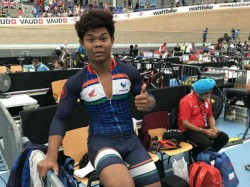 Alben Wins Silver Junior Track Cycling World Championship