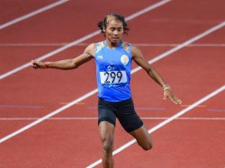 Indian Relay Race Team Protests Against Bahrain Obstructing Hima Das