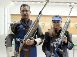 India Got Its First Medal At Asian Games 2018 10m Mixed Air