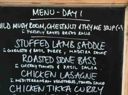 Indian Players Lunch Menu At Lords