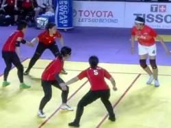 Indian Women Kabadi Team Beats Japan 43 12 Asian Games