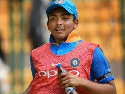 Sachin Predicted Prithvi Shaw S Entry Into Indian Team 10 Years Ago