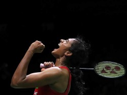 P V Sindhu Beats Nozomi Okuhara In Quarterfinals And Reached Semis