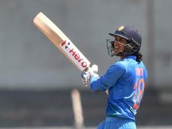 Smriti Mandhana Second Score Century Women T