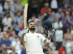 Virat Kohli Sends Flying Kiss After He Hits Century