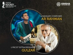 Rahman Gulzar Team Up Compose Title Song Hockey World Cup