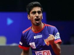 Tamilnadu Based Table Tennis Player G Sathiyan Won Arjuna Award Of