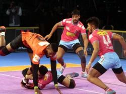 Pro Kabaddi League 2018 Pkl2018 Bengaluru Bulls Crushed