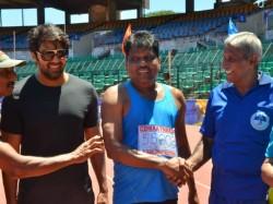 Actors Arya Vijay Antony Chennai Masters Athletic Association Sports Events