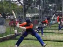 Jasprit Bumrah Batting Practice Video Released Bcci As He Bat Like Sehwag