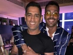 Is Pandya Smoking Sakshi Dhoni S Birthday Party Video Suggests So