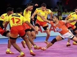 Pkl 2018 Gujarat Fortunegiants Beat Puneri Paltan Bengal Warriors Beat Bengaluru Bulls