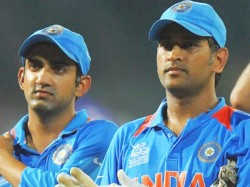 Gautam Gambhir Says There Is No Rift With Dhoni