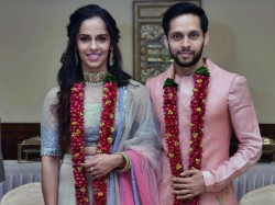 Badminton Stars Saina Nehwal Parupalli Kashyap Tied The Knot December