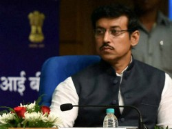 Sports Minister Rathore Says Transfering Is Not Solution Cor