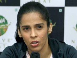 Saina Nehwal Gesture Towards Carolina Martin Won The Hearts