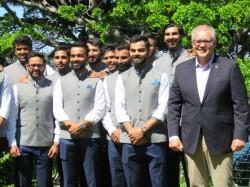 India Vs Australia Australian Pm Asked Sledging Rishab Pant