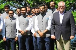 India Vs Australia Indian Cricketers Visited Australian Pm