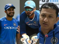 India Vs Australia Sanjay Manjrekar Not Happy With Rishabh Pant And Vijay Shankar