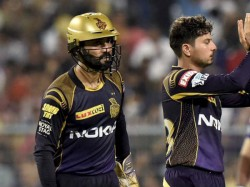 Dinesh Karthik Captain Kolkata Knight Risers Wasted Drs Review Against Sun Risers Hydrabad