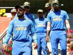 Pakistan Asks Icc Take Notice Team India Wearing Military Caps
