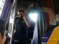 Team India Arrived Nagpur The 2nd Odi Against Australia