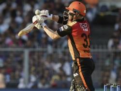 Sun Risers Hydrabad Scored 181 Runs Against Kolkata Knight Riders In Ipl