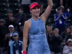 Indian Wells Dubai Champion Belinda Bencic Shocks World No 1 Naomi Osaka