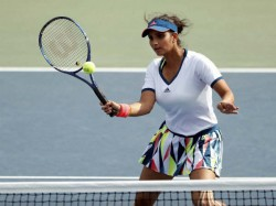 Sania Mirza Finally Gets Back Tennis Court After The Birth Her Son