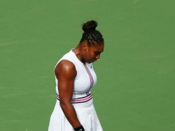 Viral Illness Forces Serena Williams End Indian Wells Match