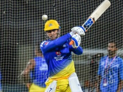 Dhoni Hits His Stylish Sixer In Net Practicing A Video Released By Csk Team