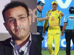 Dhoni Should Banned For 3 Matches Says Former Player Virender Sehwag