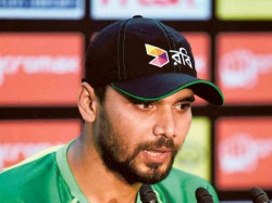 Icc World Cup 2019 Likely To Be Bangladesh Captain Mashrafe Mortaza Last Word Event