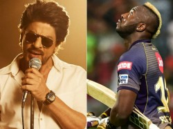 Shahrukh Khan Salutes Andre Russell Heroics With Baahubali T