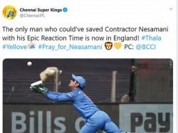 Chennai Super Kings Tweets About Pary For Neasamani