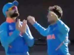 Icc Cricket World Cup 2019 Kuldeep Yadav S Bizarre Performance After A Wicket Becomes Viral