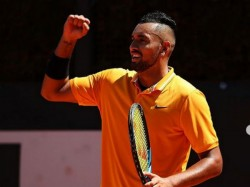 Italian Open Nick Kyrgios Outbursts After Received Penalty For Swearing