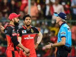 Ipl 2019 Rcb Vs Srh Virat Kohli Frustrated After Umpire Wrong No Ball Call