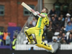 Aus Vs Pak Cricket World Cup 2019 David Warner Hit 15th Odi Hundred