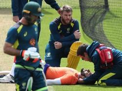 Australia Team Net Practice Stopped Suddenly