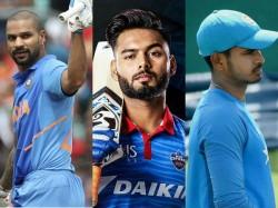 Cricket World Cup 2019 Rishabh Pant Or Shreyas Iyer Who Will Replace Shikar Dhawan