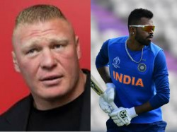Cricket World Cup 2019 Paul Heyman And Brock Lesnar Sued Ranveer Singh And Hardik Pandya