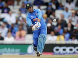Ind Vs Aus Cricket World Cup 2019 Dhoni Changed As Hardik Pndya While Batting