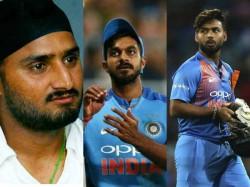 Cricket World Cup 2019 Harbhajan Singh Wants Vijay Shankar In Afghanistan Game Ahead Of Rishabhpant