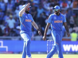Icc World Cup 2019 Fans Shows Big Blow Against Kohli And Shami