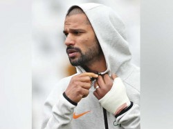Shikhar Dhawan Ruled Out From World Cup Series 2019 Bcci Announced
