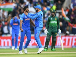 Ind Vs Pak Cricket World Cup 2019 Vijay Shankar Got Wicket In First Ball In World Cup Debut