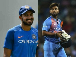 Ind Vs Wi Cricket World Cup 2019 Kris Srikkanth Bats For Rishabh Pant Ahead Of Vijay Shankar