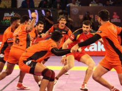 Pro Kabaddi League 2019 U Mumba Beat Puneri Paltan While Jaipur Beat Pengal